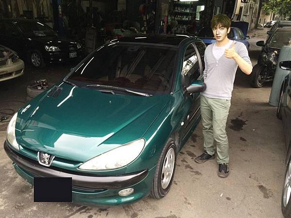 綠蠵龜206李敏浩交車