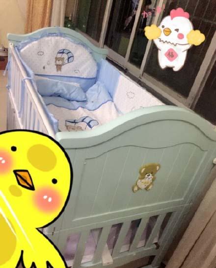 嬰兒床  實用指數:★☆☆☆☆