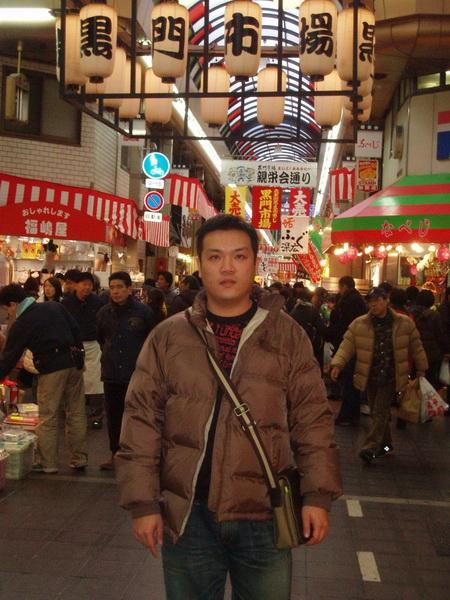 12/31(一)中午的日本橋黑門市場