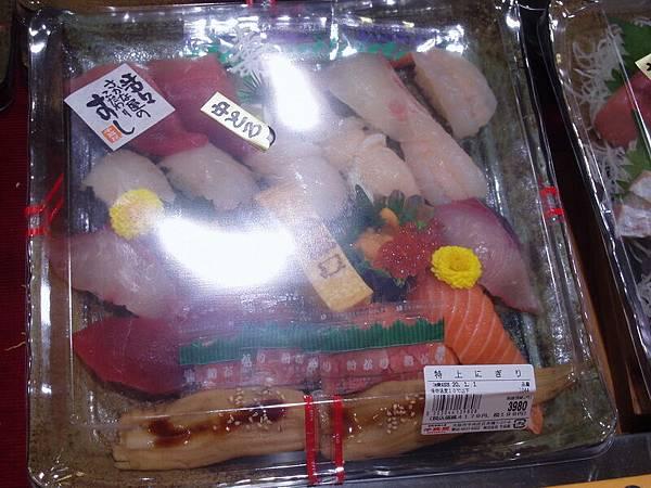 12/31(一)黑門市場-日本過年會吃的壽司飯看起來很好吃~