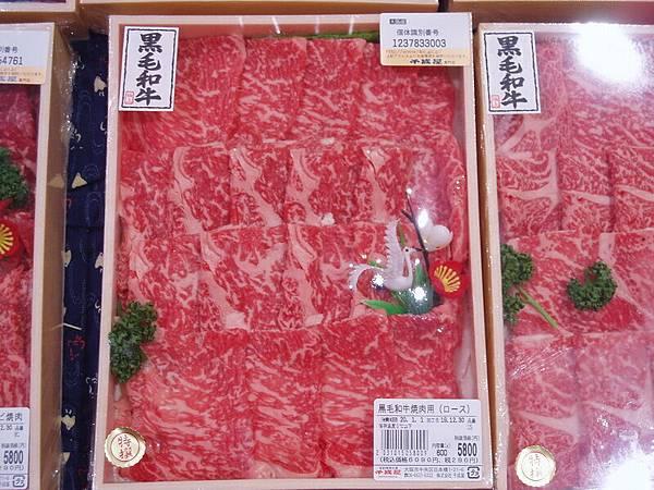 日本超市的牛肉看起來超新鮮