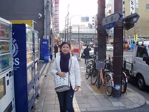 12/31大阪日本橋街道 到處都是販賣機