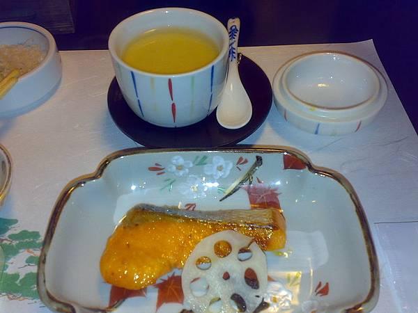 1/1京都豪華豆腐料理(共有八道菜)-茶碗蒸