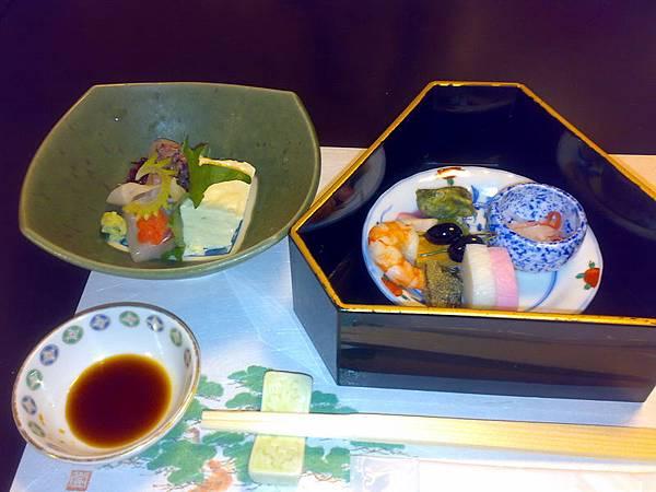 1/1京都豪華豆腐料理(共有八道菜)-日本漬物