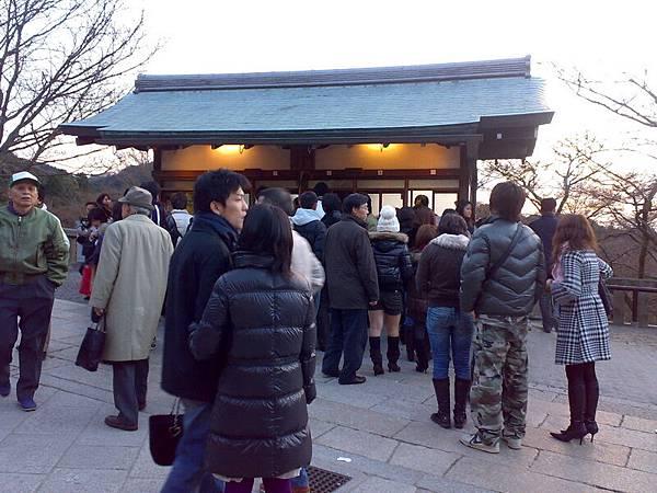 京都-世界遺產-清水寺-售票處-每人300日幣