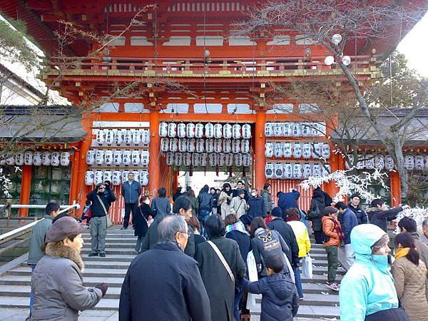 京都-祇園-八版神社