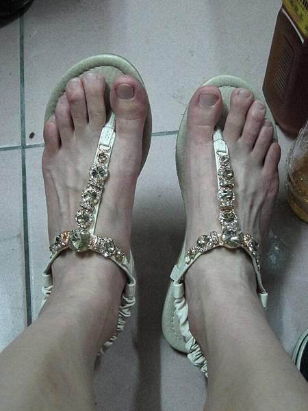 我漂亮的鞋壓!