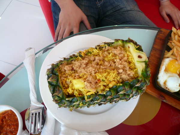 Pineapple Fried Rice 菠蘿炒飯.JPG