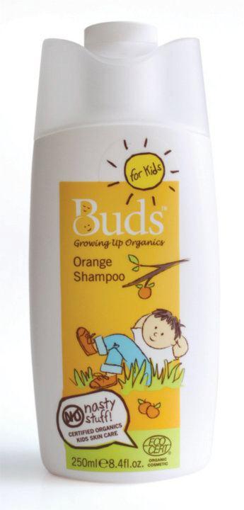兒童橘子洗髮露