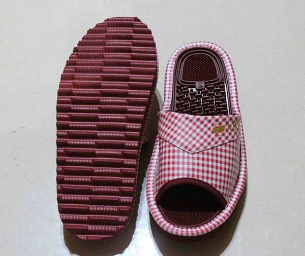健康機能鞋-紅正反