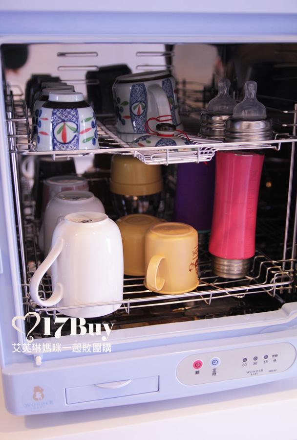 紫外線專業級殺菌奶瓶烘碗機-7