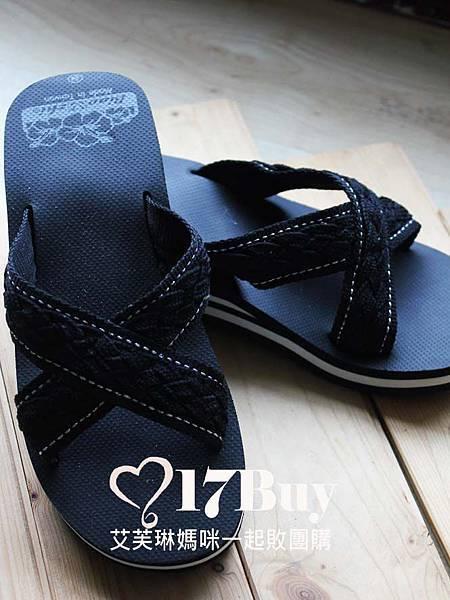 1232交叉編織帶高根海灘鞋-黑.jpg