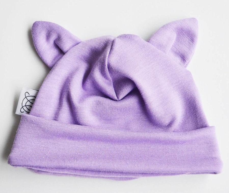 小耳帽-紫