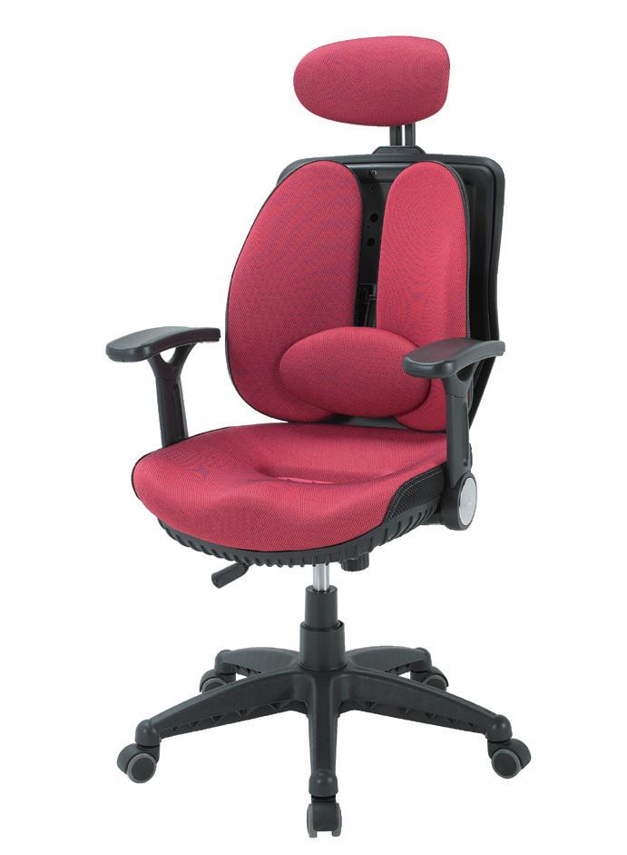 CM-工學椅-紅