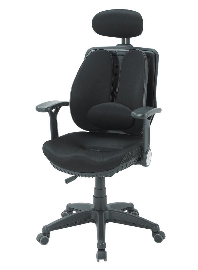 CM-工學椅-黑