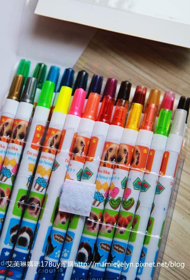 彩色旋轉蠟筆-2