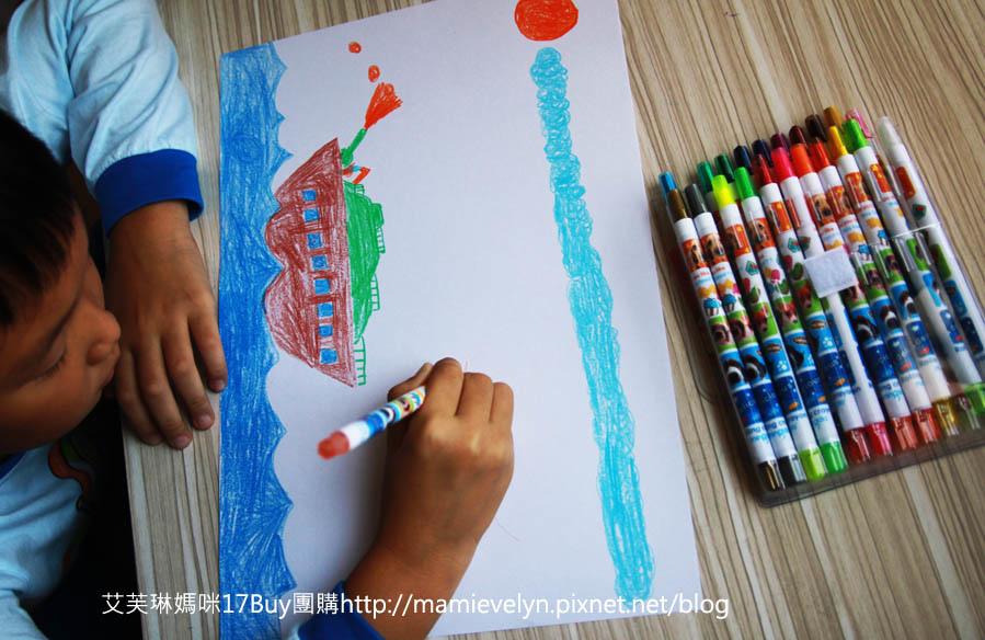 彩色旋轉蠟筆-4