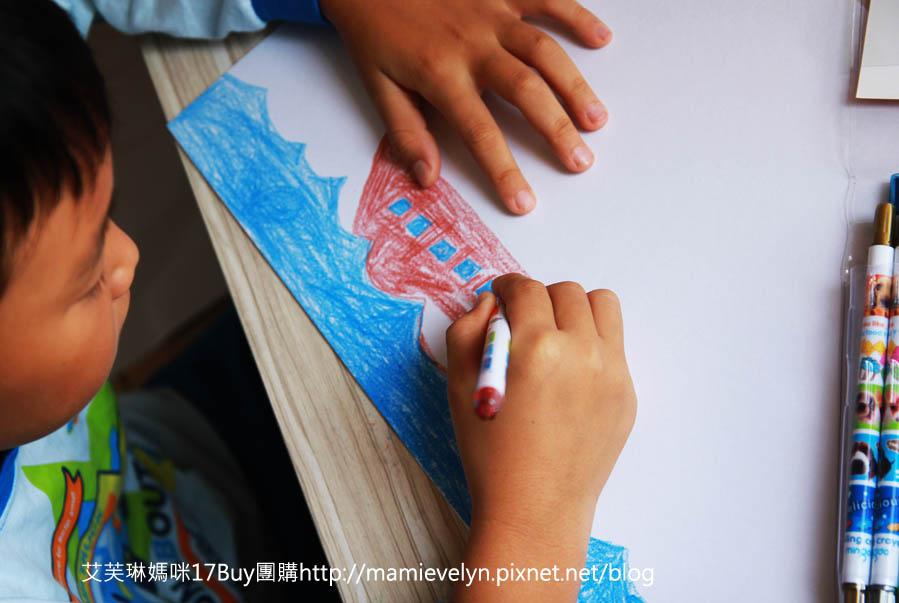 彩色旋轉蠟筆-3