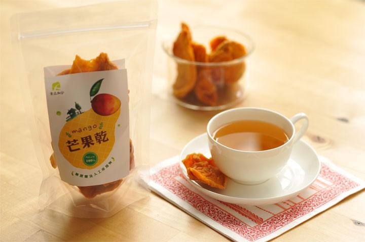 無蔗糖添加愛文芒果乾-1