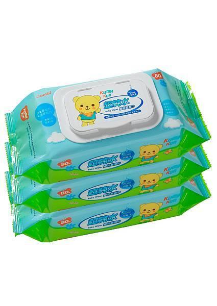 81250 超純水嬰兒柔濕巾 80抽促銷組-2