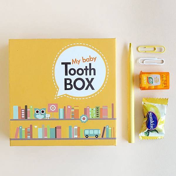 韓國Mellow 乳牙盒1