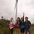 澎湖的風力發電,有這麼大的風,一定沒問題的!