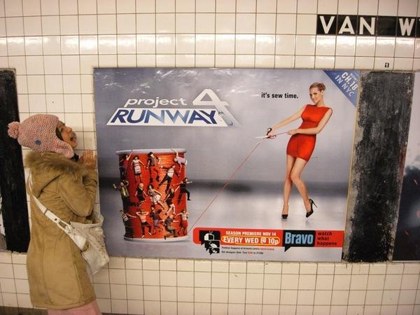 我跟推機非常喜愛的Project Runway最新一季要在美國播出了