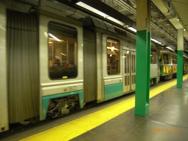 Boston的Train