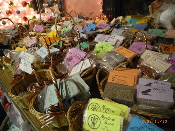 賣許多女巫用品的小商店