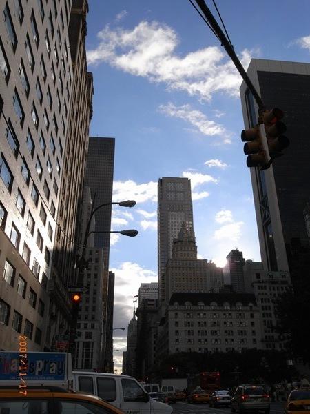 紐約的天空