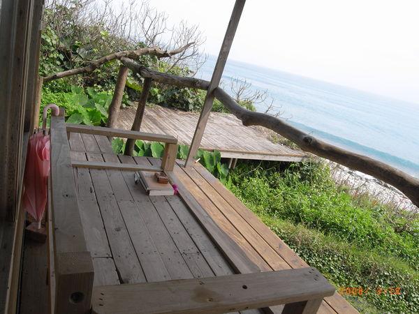 這是全台灣離海最近的房子了吧