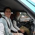 很幸運遇上了海巢鄰居的便車送我到市區,非常美麗的旅程