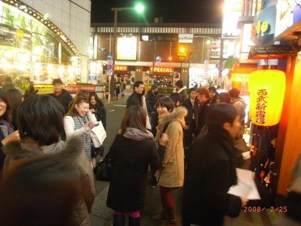 唱完以後門口還有旺福的日本歌迷
