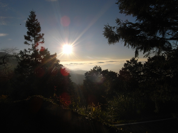 第一天的日落