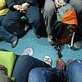 第二天清晨當然會在火車上