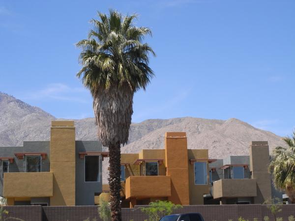 可愛的Palm Spring也是LA人喜愛的度假勝地喔