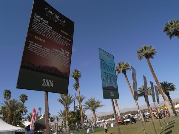 每一年Coachella的名單