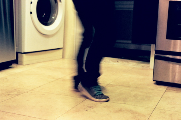 Dan的moon walking