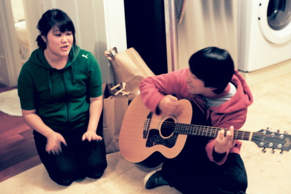 Aya & Dan 的和聲總是讓我陶醉