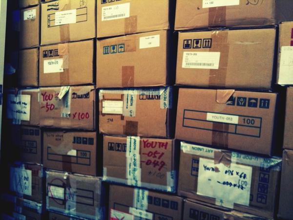 唱片公司倉庫一遊