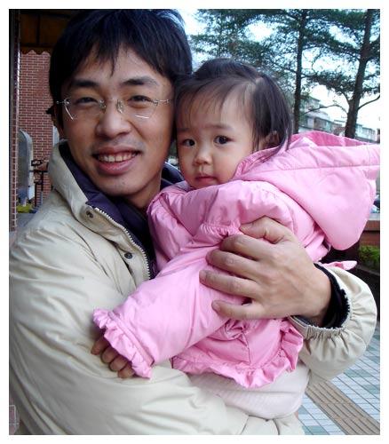 我愛爸爸抱
