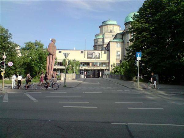 傳說中的德國科工博物館,好想進去啊~