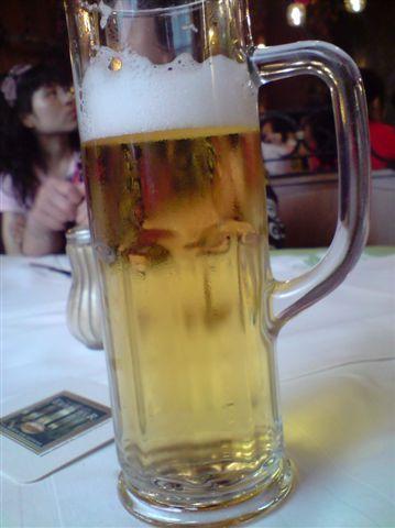 閑死人的湯要配啤酒