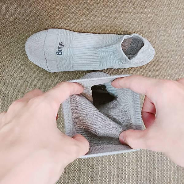 SNUG運動船襪-襪口彈性.JPG