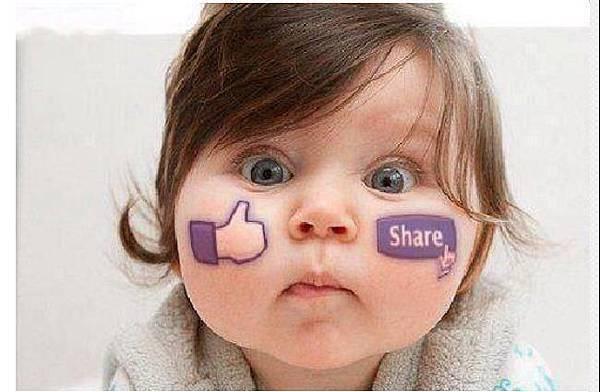 baby & facebook