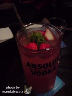 vodka草莓調酒