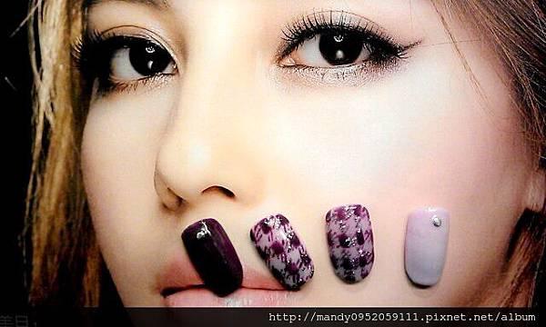 秋冬新款~紫色光療