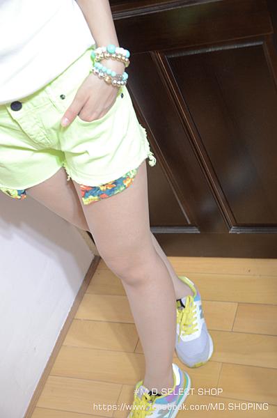 螢光綠褲子02