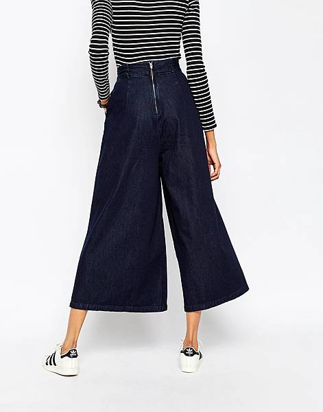 ASOS Denim Super Wide leg Jeans with Tie Waist in Indigo-2.jpg
