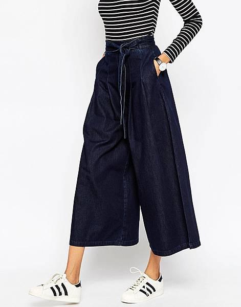 ASOS Denim Super Wide leg Jeans with Tie Waist in Indigo-1.jpg